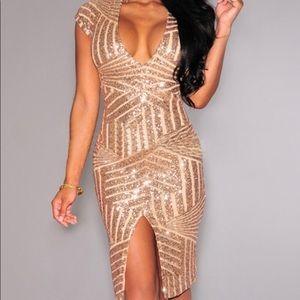 NWT sequins club dress